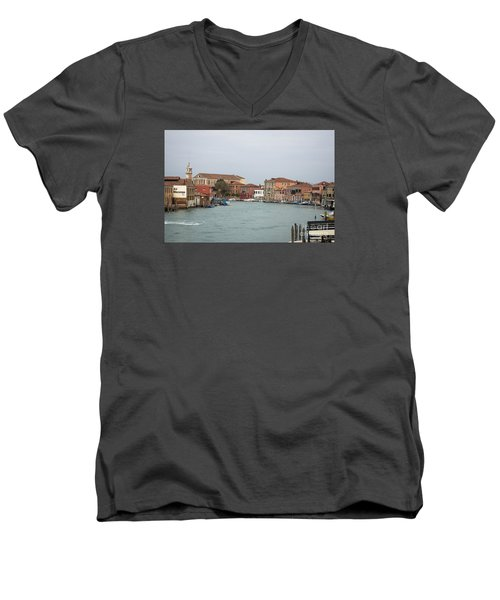 Canal Of Murano Men's V-Neck T-Shirt