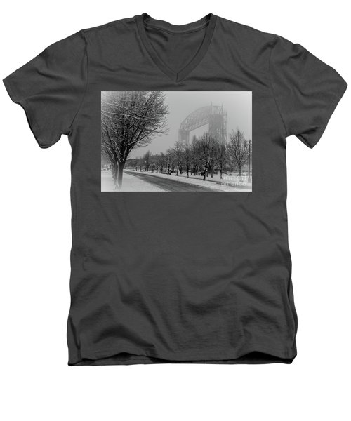 Canal Park Men's V-Neck T-Shirt