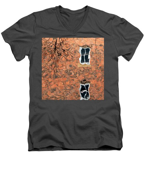 Canal Reflections 1 Men's V-Neck T-Shirt