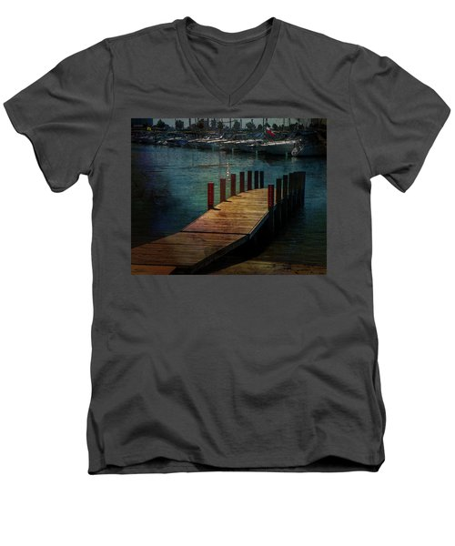 Canalside Men's V-Neck T-Shirt