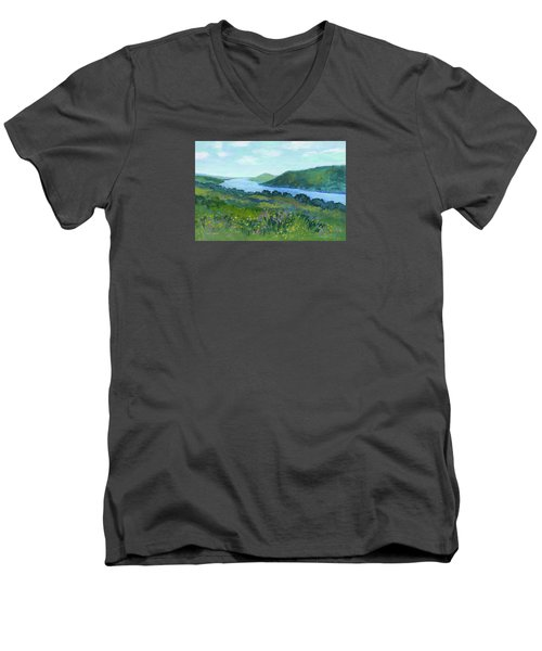 Canandaigua Lake II Men's V-Neck T-Shirt