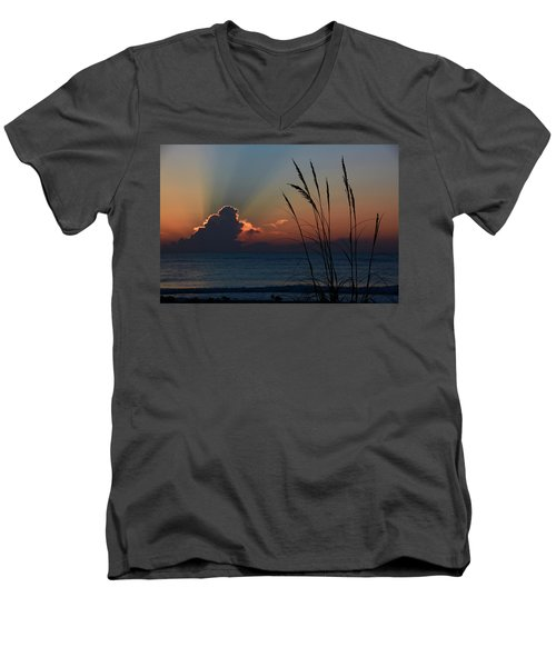 Canaveral Sunrise Men's V-Neck T-Shirt