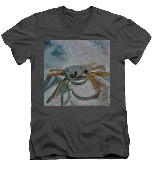 Cancer's Are Not Crabby Men's V-Neck T-Shirt