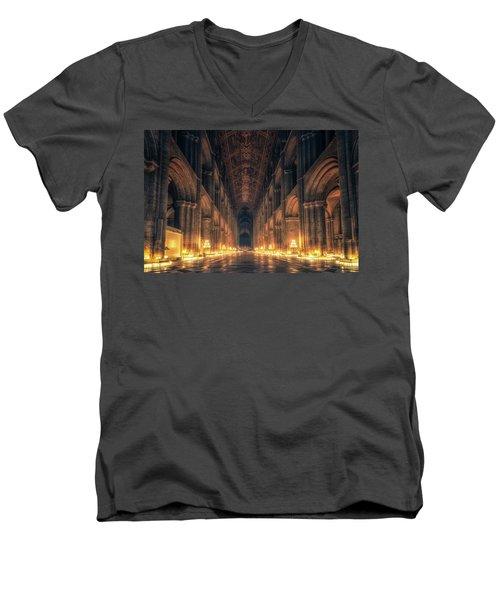 Candlemas - Nave Men's V-Neck T-Shirt