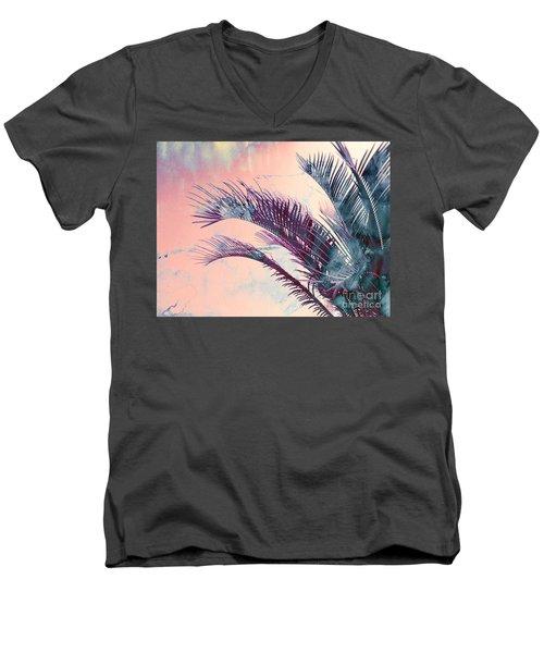 Candy Palms Men's V-Neck T-Shirt