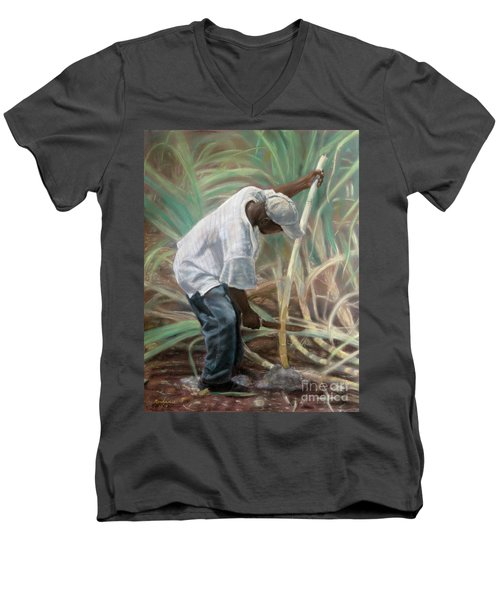 Cane Field Men's V-Neck T-Shirt