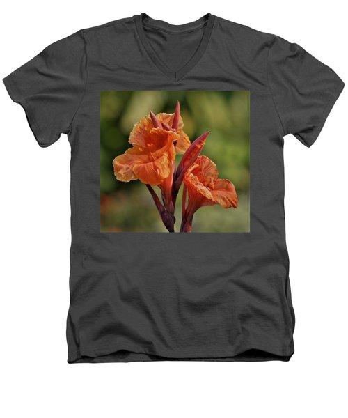 Canna Lily 2945_3 Men's V-Neck T-Shirt