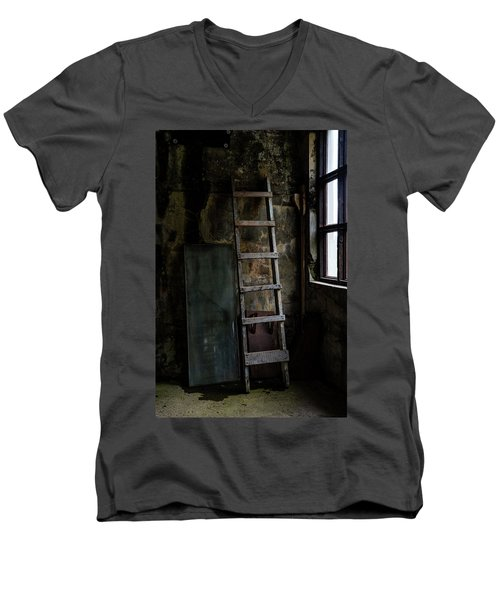 Cannery Ladder Men's V-Neck T-Shirt