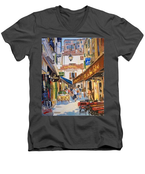 Cannes Men's V-Neck T-Shirt