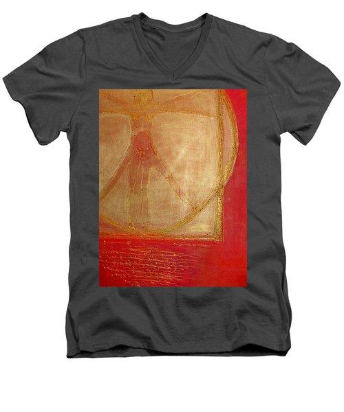 Cannon Of Proportion Men's V-Neck T-Shirt