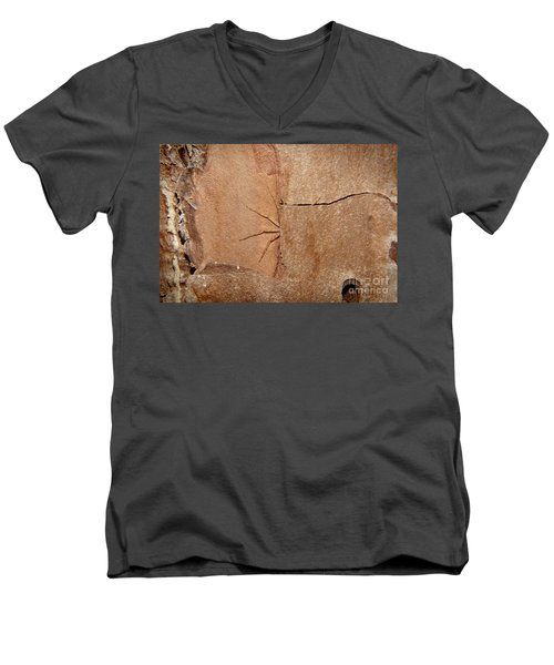 Can't See Me Men's V-Neck T-Shirt by Lynda Dawson-Youngclaus