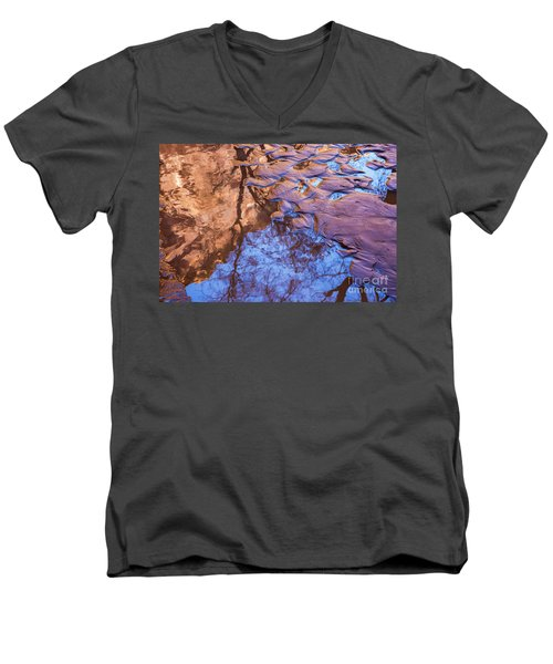Canyon Reflections Men's V-Neck T-Shirt
