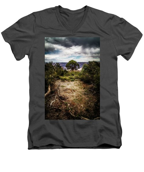 Canyon Sentinel Men's V-Neck T-Shirt