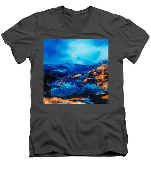 Canyon Song Men's V-Neck T-Shirt
