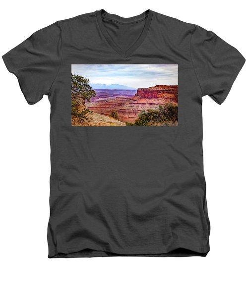 Canyonlands National Park Men's V-Neck T-Shirt