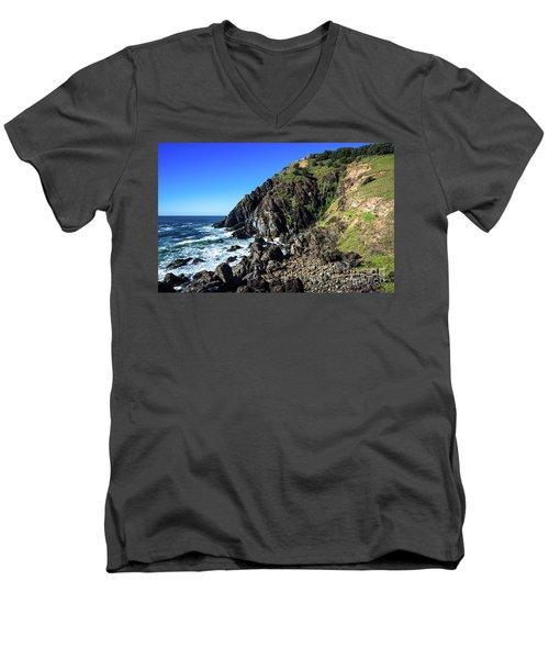 Cape Byron  Men's V-Neck T-Shirt