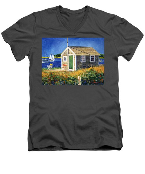 Cape Cod Boat House Men's V-Neck T-Shirt