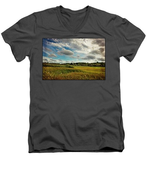 Cape Cod Marsh 2 Men's V-Neck T-Shirt