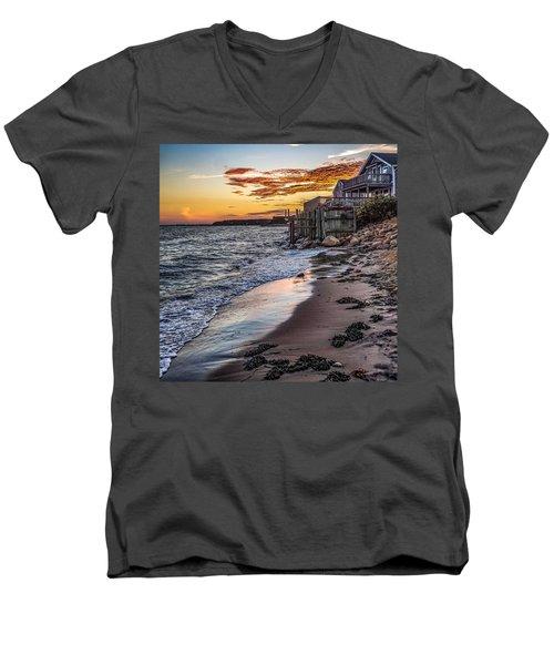 Cape Cod September Men's V-Neck T-Shirt