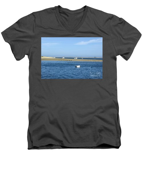 Cape Cod Tranquility Men's V-Neck T-Shirt