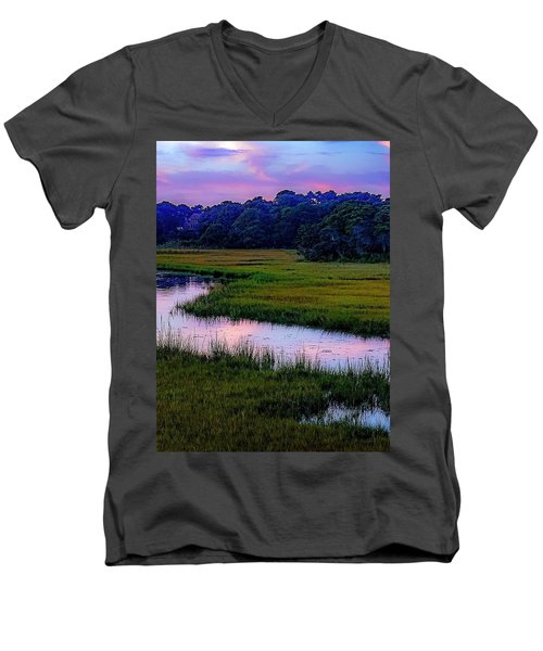 Cape Light Men's V-Neck T-Shirt