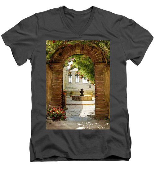 Capistrano Gate Men's V-Neck T-Shirt