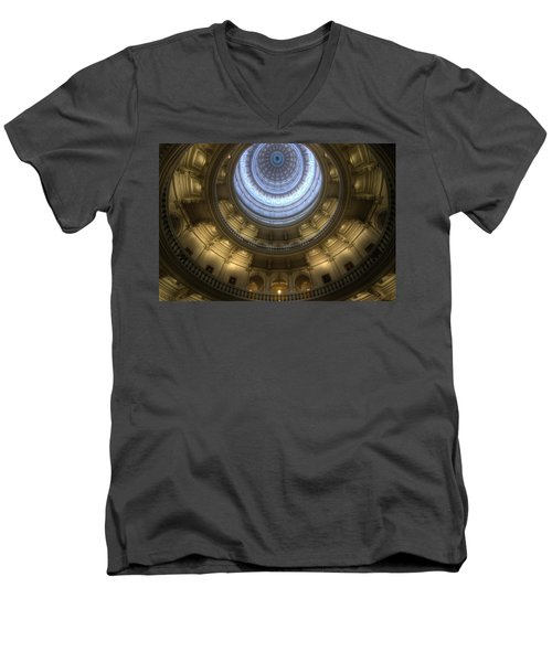 Capitol Dome Interior Men's V-Neck T-Shirt