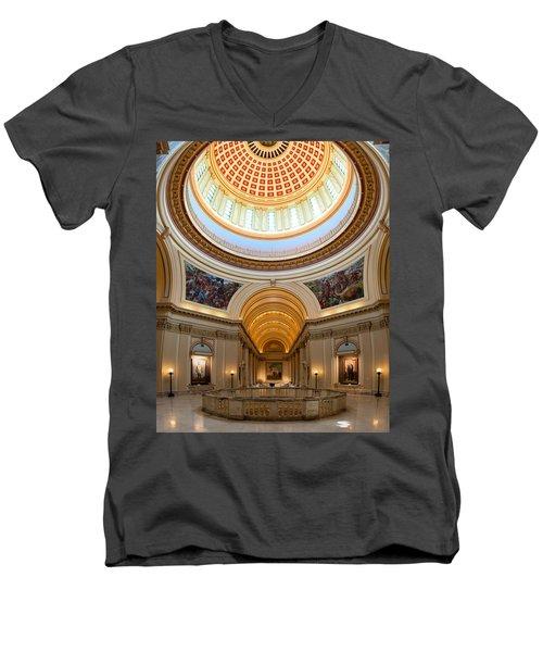 Capitol Interior II Men's V-Neck T-Shirt