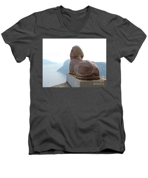 Capri, Villa San Michele 1 Men's V-Neck T-Shirt