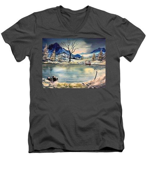 Captain 44 Men's V-Neck T-Shirt
