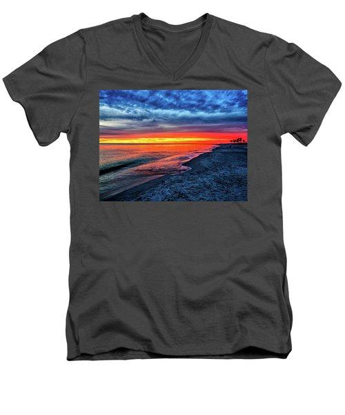 Captiva Island Sunset Men's V-Neck T-Shirt