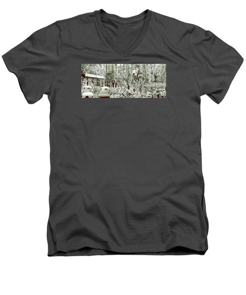 Capture On Endor Men's V-Neck T-Shirt