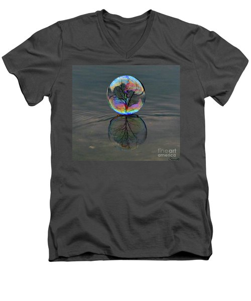 Captured  Men's V-Neck T-Shirt
