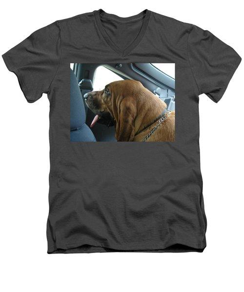 Car Ride Men's V-Neck T-Shirt
