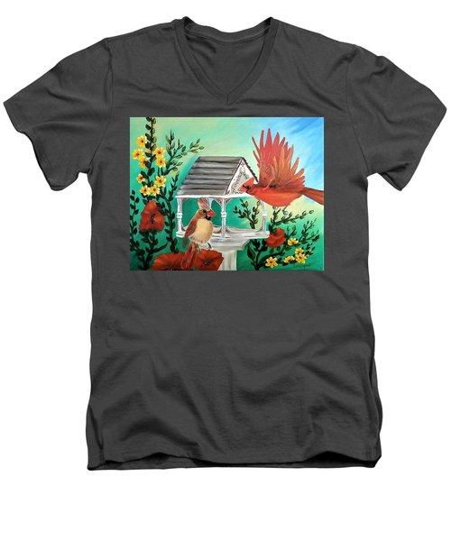 Cardinals Men's V-Neck T-Shirt