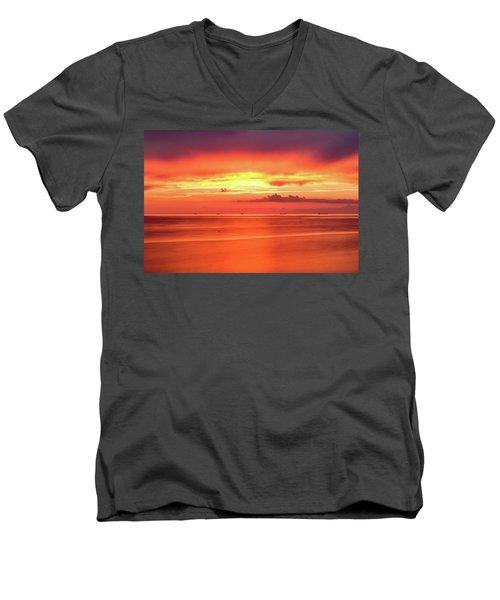 Cargo Line Men's V-Neck T-Shirt