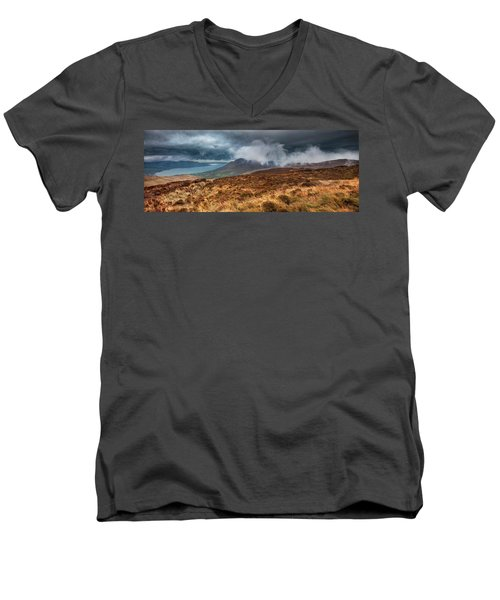 Carlingford Lough Men's V-Neck T-Shirt by Marty Garland