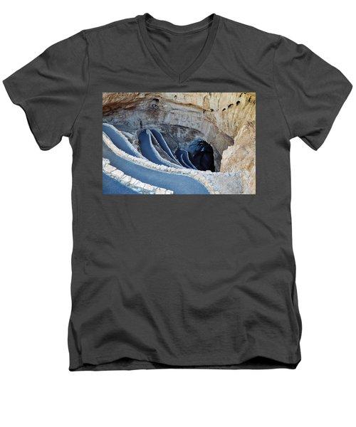 Carlsbad Caverns Natural Entrance Men's V-Neck T-Shirt