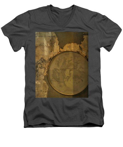 Carlton 3 - Abstract Concrete Men's V-Neck T-Shirt