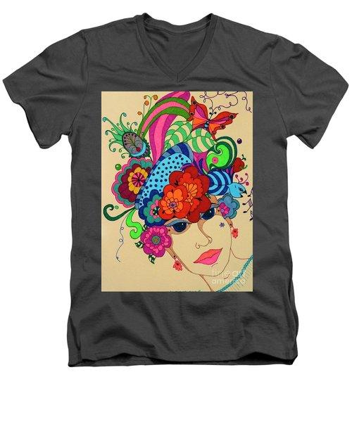 Carmen Men's V-Neck T-Shirt
