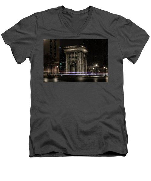 Carnegie Monument Men's V-Neck T-Shirt