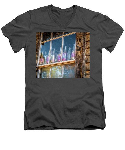 Carnival Glass Men's V-Neck T-Shirt