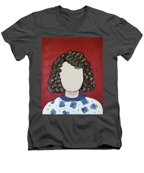 Carol Men's V-Neck T-Shirt