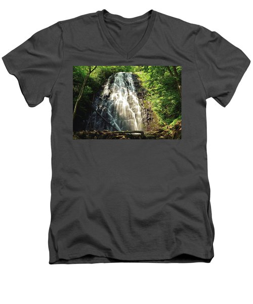Carolina's Crabtree Falls Men's V-Neck T-Shirt