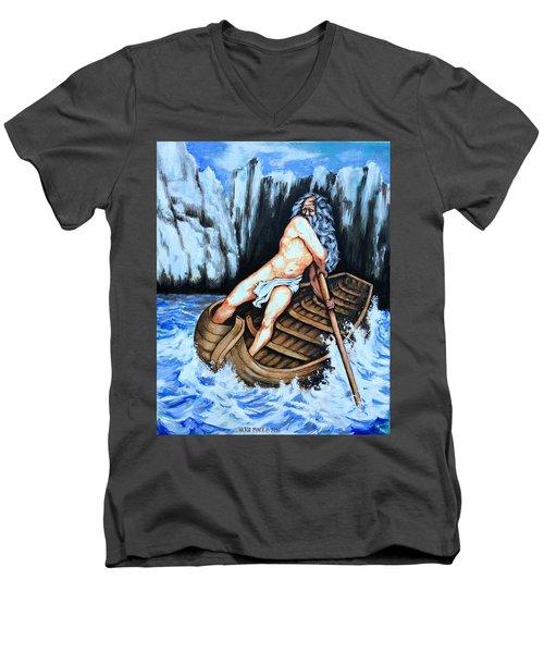 Caronte Men's V-Neck T-Shirt