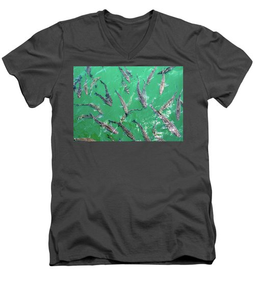 Carp Men's V-Neck T-Shirt