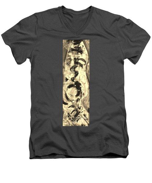 Carpenter Men's V-Neck T-Shirt by Carol Rashawnna Williams