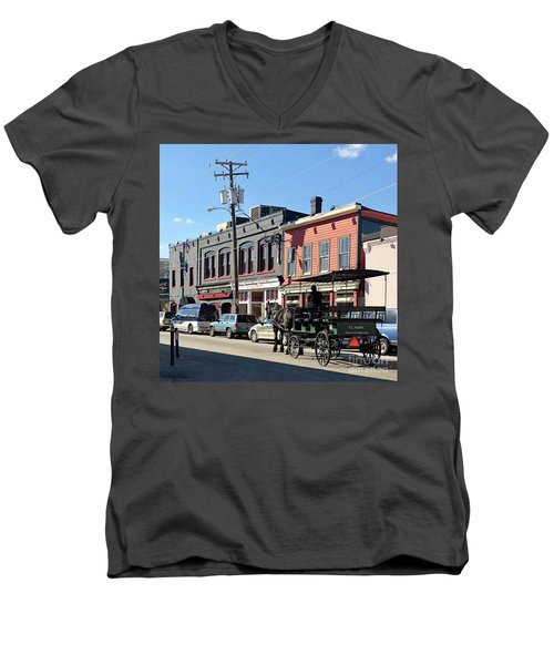 Carriage Men's V-Neck T-Shirt