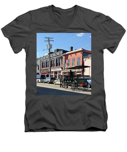 Carriage Men's V-Neck T-Shirt