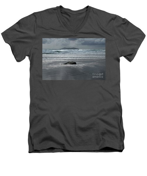 Carrowniskey Beach Men's V-Neck T-Shirt